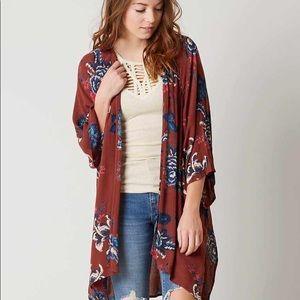 Billabong Desert Dreams Cardigan floral kimono